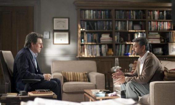 Gabriel Byrne (links) als psychiater in de HBO-reeks 'In treatment'.