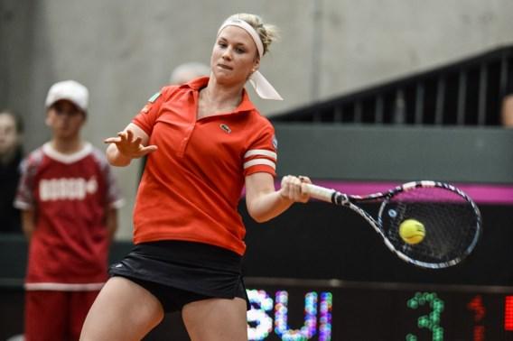 Topreekshoofd Ysaline Bonaventure is beste in ITF Bastad