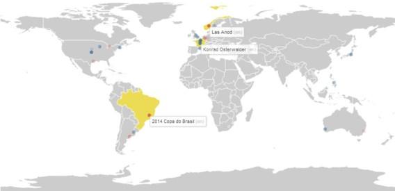 Bekijk live de aanpassingen aan Wikipedia