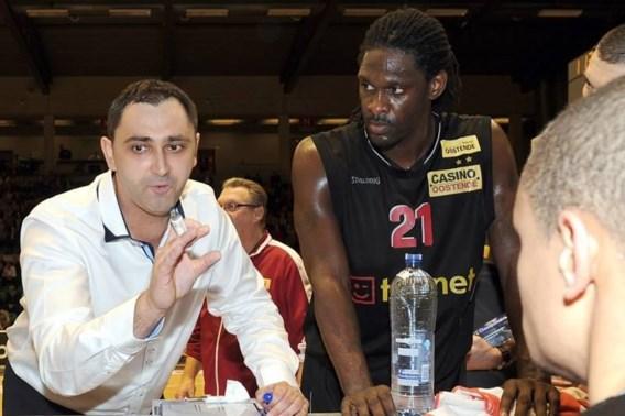 Dario Gjergja (Oostende) basketcoach van het jaar