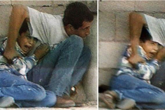 Israël betwist schuld aan dood Palestijnse jongen die met vader achter ton schuilde (2)