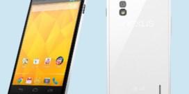 LG kondigt witte Nexus 4 aan