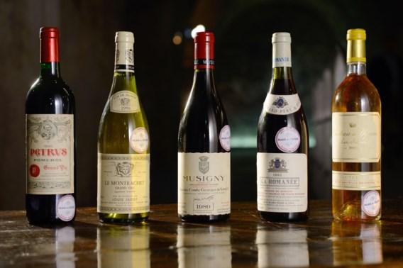 Veiling wijn uit Elysée levert al 295.000 euro op