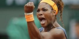 Roland Garros: Serena Williams geeft Sharapova geen kans