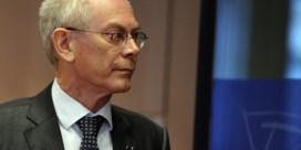 Van Rompuy: 'Militaire oplossing is voor Syrië niet mogelijk'