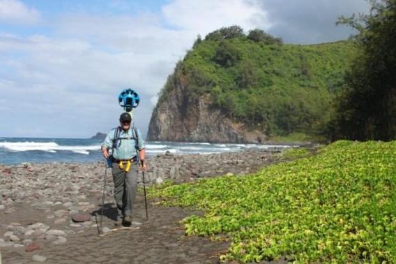 Zelf Google Street View-beelden maken op vakantie?