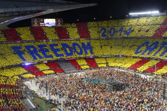 90.000 mensen op concert voor onafhankelijkheid Catalonië