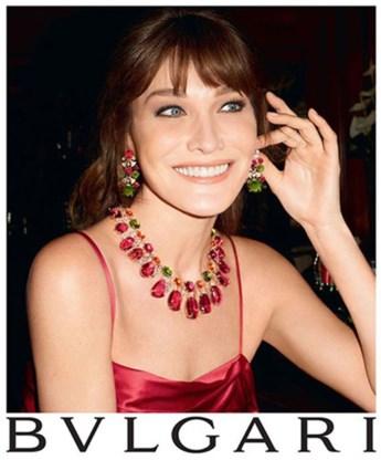 Carla Bruni opnieuw model