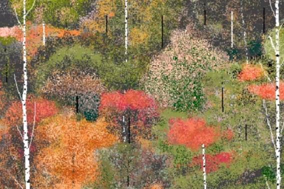97-jarige maakt kunst met Microsoft Paint