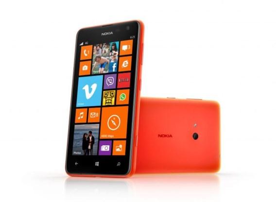 Nokia lanceert goedkope 4G-smartphone Lumia 625