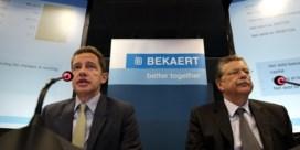 Bert De Graeve: 'Inspanningen Bekaert leveren resultaat op'
