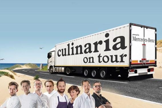 WEEKENDTIP. Culinaria start tournee in Knokke