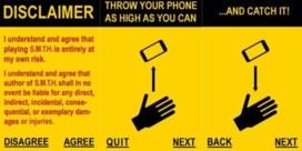 Apple verbiedt app die vraagt je telefoon in de lucht te gooien