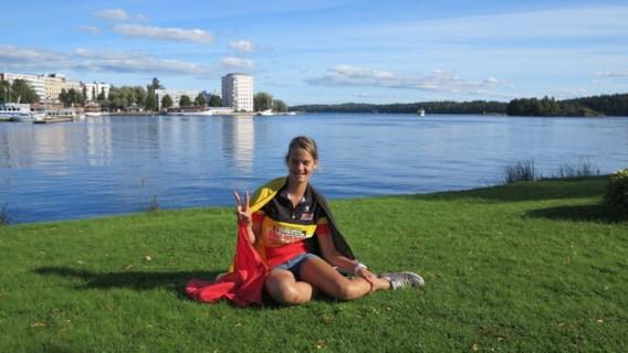 Belgisch meisje tweede op WK gsm-werpen