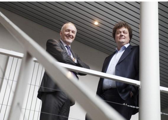 Jo Cornu (l.) en Luc Desender moeten het schuldenprobleem bij Electrawinds oplossen.