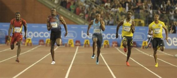 Usain Bolt wint 100 meter in toptijd