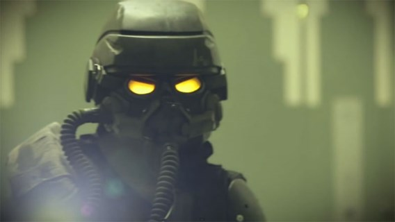 Playstationfan maakt levensechte Killzone video in Antwerpen