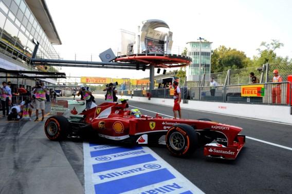 10 000 euro boete voor F1-team Ferrari