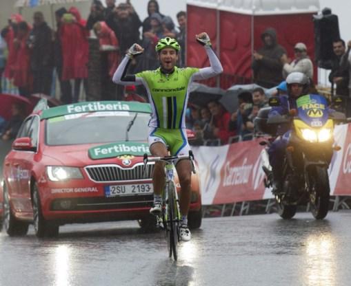 Ratto pakt historische zege, Gilbert toont zich in onderkoelde Vuelta