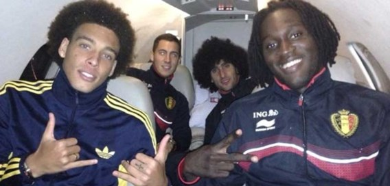 Hazard en Lukaku deejays van 'klein feestje' in kleedkamer