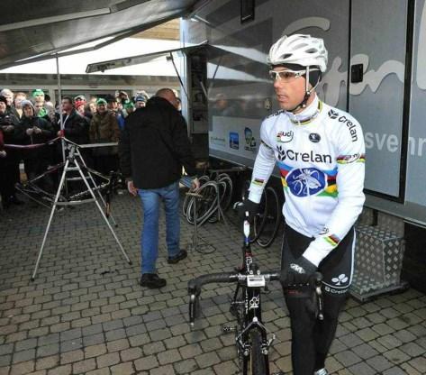 Sven Nys is klaar voor het veldrijden