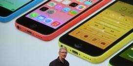 'Goedkopere' plastic iPhones bij Apple