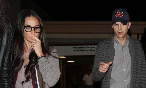 Ashton Kutcher en Demi Moore spreken weer met elkaar