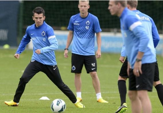 Waldemar Sobota (l.) komt naar Brugge om hard te werken, veel te spelen en zich op voetbalvlak verder te ontwikkelen.