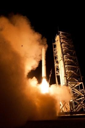 NASA schiet per toeval kikker de lucht in
