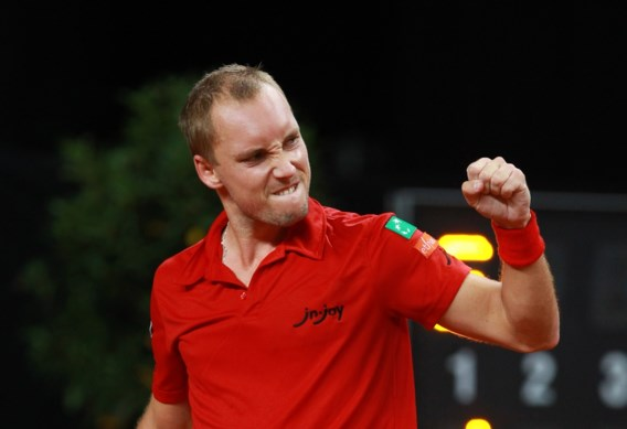 Sterke Darcis bezorgt België 1-0 voorsprong in Davis Cup