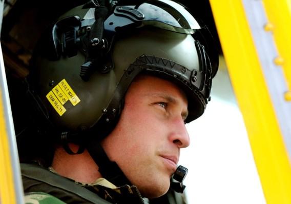 Prins William verlaat het leger
