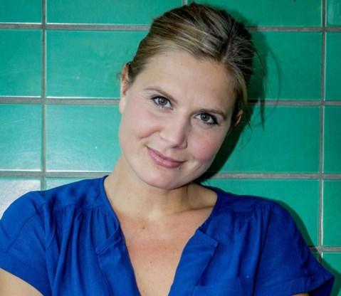 Nathalie Meskens prijst dieetcursus aan