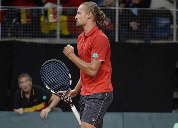Bemelmans speelt eerste enkelwedstrijd Davis Cup