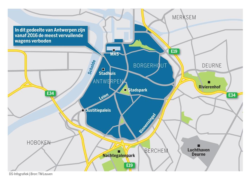Bannen Oude Diesels Haalt Roet Uit Lucht Antwerpen De Standaard Mobile