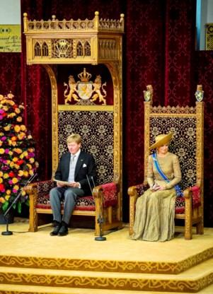 LETTERLIJK. De eerste Troonrede van koning Willem-Alexander