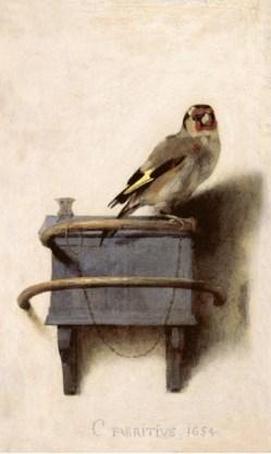'Het puttertje' van Carel Fabritius: trompe-l'oeil van Donna Tartt.