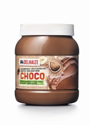 Delhaize pakt uit met chocopasta zonder palmolie