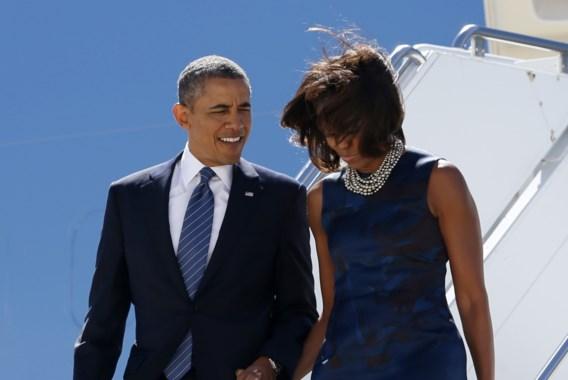 Obama: 'Ik ben bang van mijn vrouw'