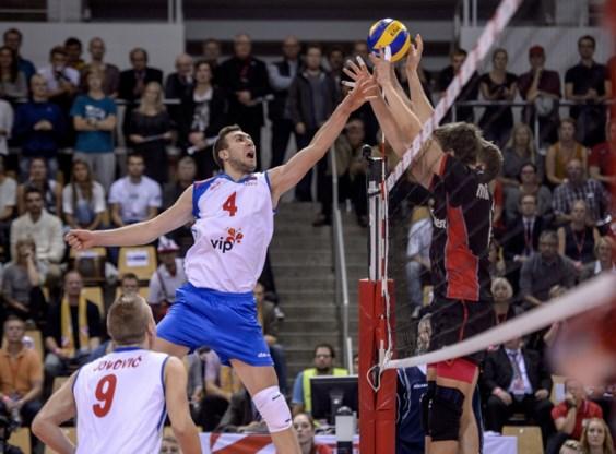 Red Dragons in kwartfinales tegen Servië