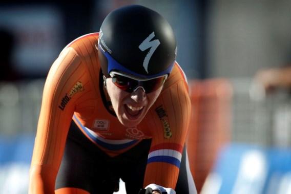 Nederlandse wint WK tijdrijden bij de vrouwen