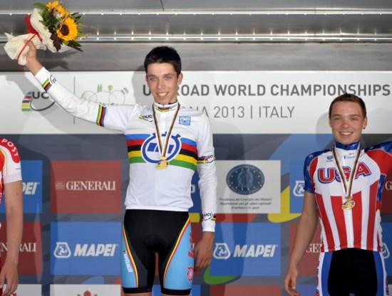 Igor Decraene: 'Zie mij nu staan met wereldkampioenentrui'