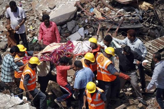 Dodentol na instorting gebouw in Mumbai loopt op: 61 doden