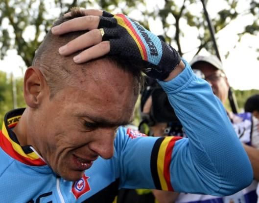 Gilbert: 'Ik kon amper recht blijven door de pijn'