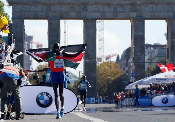 Kipsang verbetert wereldrecord op de marathon