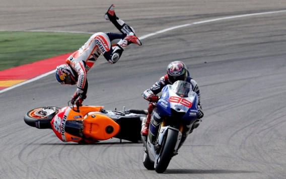 Marquez beste in MotoGP Aragon