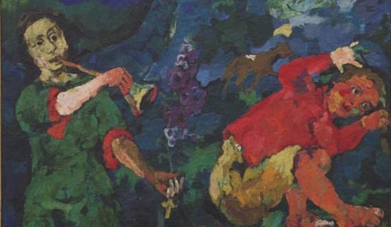 'De macht van de muziek' van Kokoschka, een topstuk uitgeleend door het Van Abbemuseum.