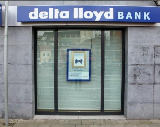 De vestiging van Delta Lloyd Bank in Halle.