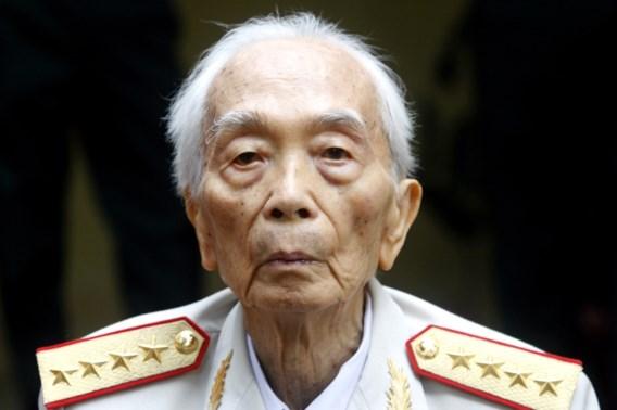 Vietnamese generaal Vo Nguyen Giap overleden
