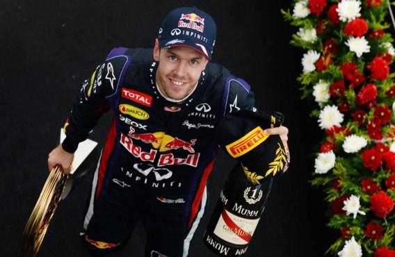 Sebastian Vettel behaalde in Zuid-Korea zijn achtste seizoenszege.