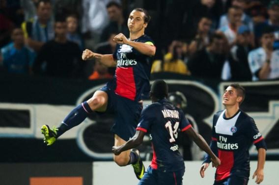 PSG wint met 10 bij Marseille